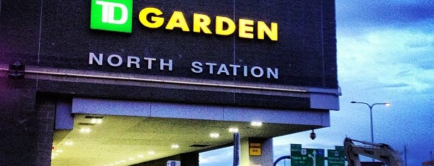 MBTA North Station is one of Downtown Boston, Chinatown & North End.