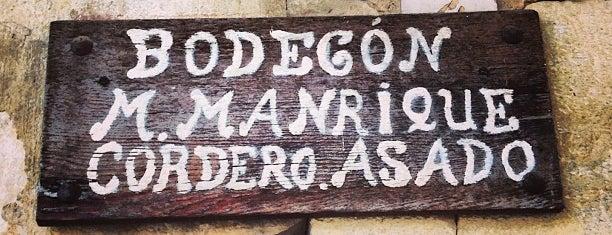 El Bodegon de Manrique is one of De Viaje Por España.