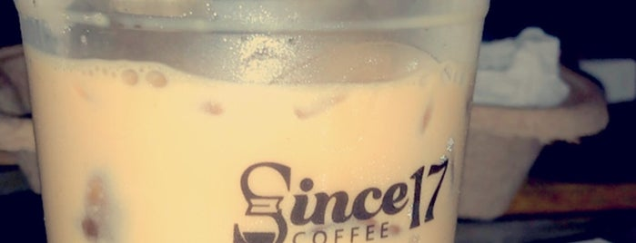 Since17 is one of Dammam & Khobar Speciality Coffee shops.