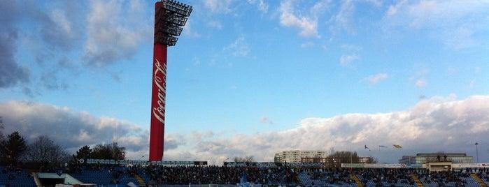 Štadión Pasienky is one of Prvoligové futbalové štadióny.