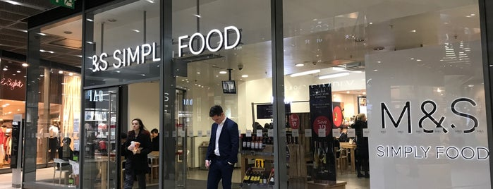 M&S Simply Food is one of London on a Budget.