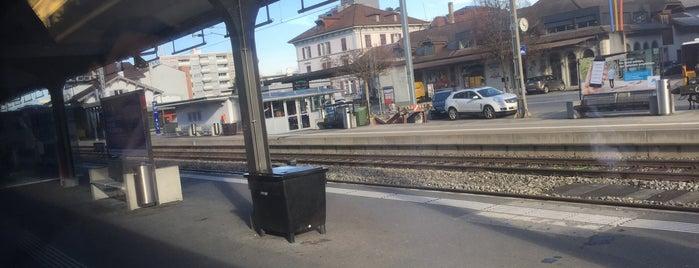 Bahnhof Emmenbrücke is one of schon gemacht 2.