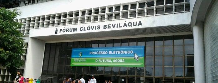 Fórum Clóvis Beviláqua is one of Orte, die Olga gefallen.