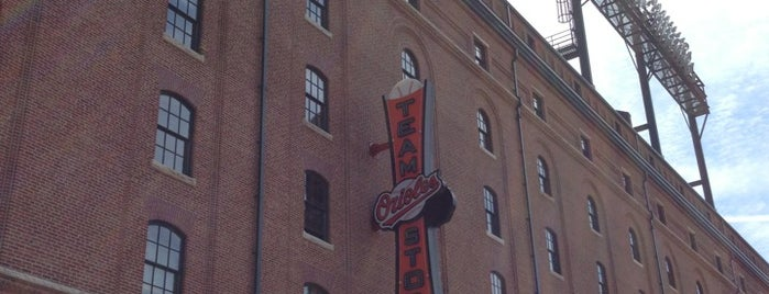 Majestic Orioles Team Store at Camden Yards is one of The Seven Ten Split Bagde.