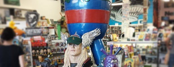 Meltdown Comics and Collectibles is one of 100 Cheap Date Ideas in LA.