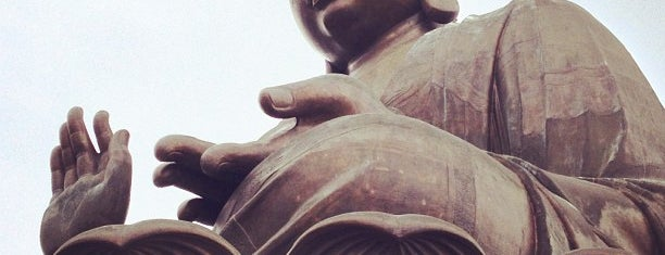 Tian Tan Buddha (Giant Buddha) is one of Locais curtidos por Fidel.