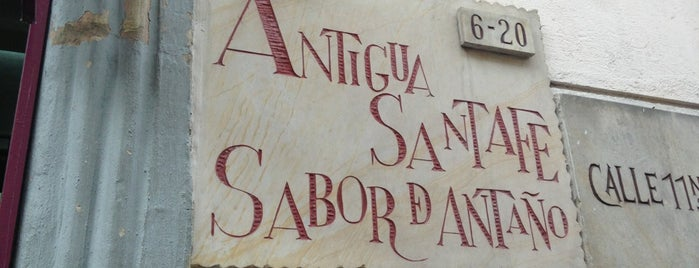 Antigua Santa Fe is one of Colombia.