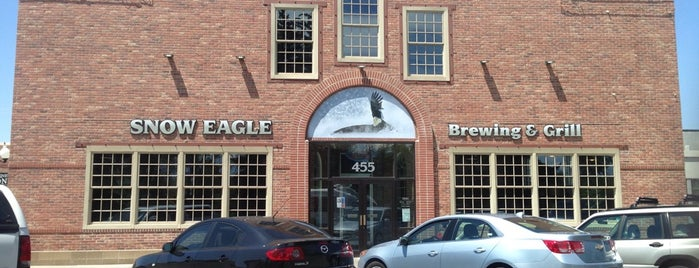 Snow Eagle Brewing & Grill is one of Brewery & Distillery To-Do List.