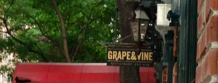 Grape & Vine is one of New Restaurants to Try.