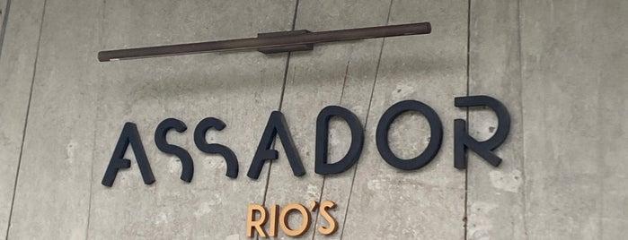 Assador is one of Rio Show Gastronomia 2018.