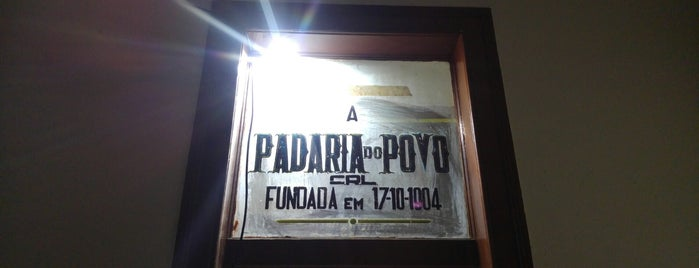 A Padaria do Povo is one of Locais salvos de Claudia.