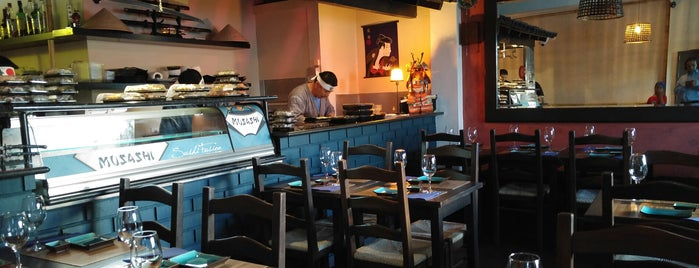 Musashi Sushi Fusion is one of Best Japanese Restaurants in Portugal.