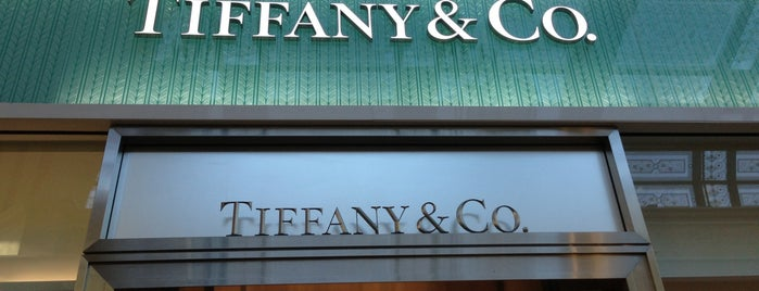 Tiffany & Co. is one of Vegas.