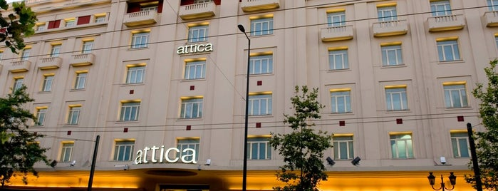 Attica is one of ATHENS.
