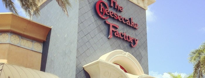 The Cheesecake Factory is one of Brazil in Miami 2013.