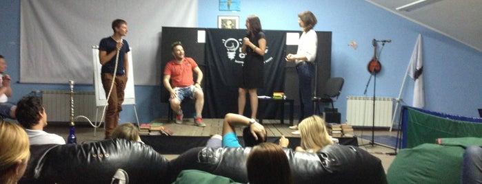 Ping-pong club Master is one of Bars & fun Kiev.