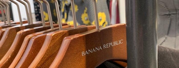 Banana Republic is one of Honghui'nin Beğendiği Mekanlar.