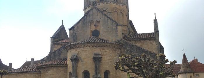 Semur-en-Brionnais is one of Les plus beaux villages de France.