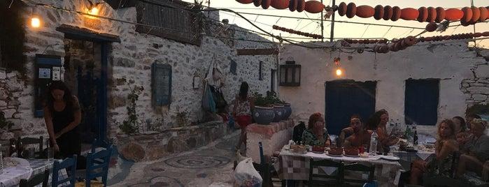 Ο Βενετσάνος is one of Manolis visited.