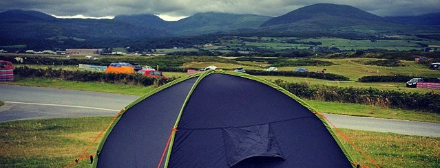 Shell Island Camp Site is one of Wales.