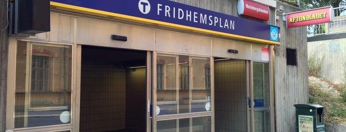 Fridhemsplan T-Bana is one of Estocolmo.
