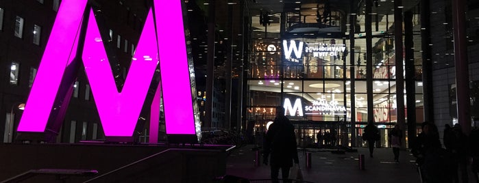 Westfield Mall of Scandinavia is one of Posti che sono piaciuti a 4sq SUs Sweden.