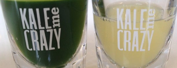 Kale Me Crazy is one of 50 Cult-Favorite Juice Bars.