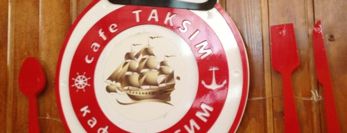 Taksim Cafe is one of Kırgızistan.