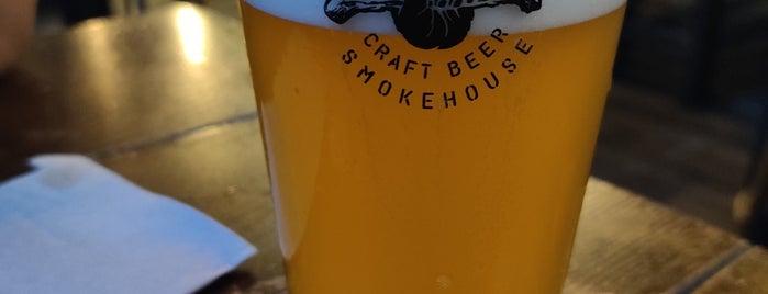 Jimbo SmokeHouse is one of Restaurantes por descubrir.
