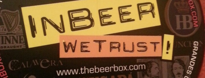 The Beer Box is one of Mis nuevos lugares a conocer.