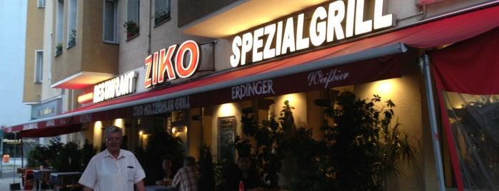 Ziko's Grill is one of สถานที่ที่ Lou ถูกใจ.