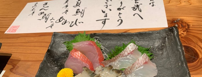 魚河岸 宮武 is one of Kyoto Eats.