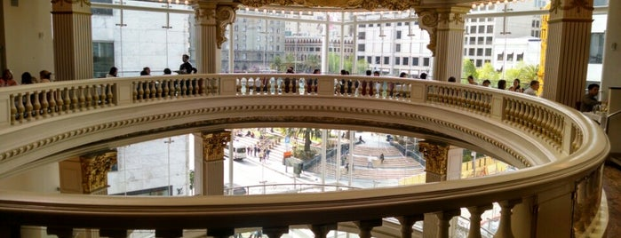 The Rotunda at Neiman Marcus is one of Good Eats: SF Edition.