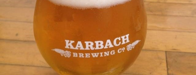 Karbach Brewing Co. is one of Houston.