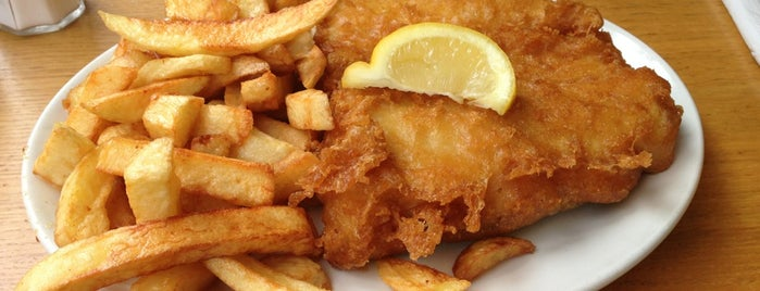 Seafoods Fish and Chips is one of Bath.