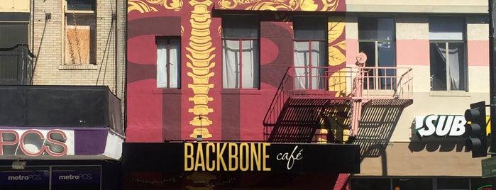 Backbone Cafe is one of Eater SF Sacramento.