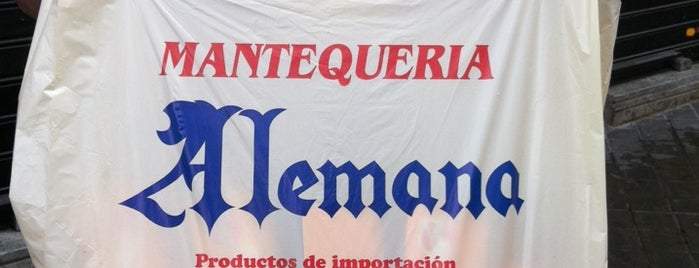 Mantequería Alemana is one of Madrid - Supermercados extranjeros.