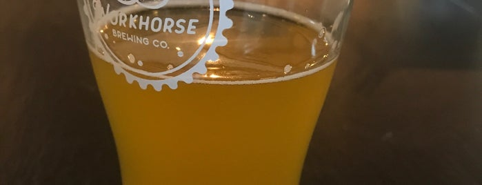 Workhorse Brewing Co. is one of Orte, die Joshua gefallen.