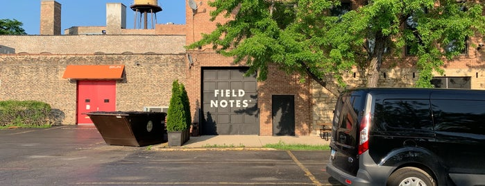 Field Notes Midwest Headquarters is one of Chicago.