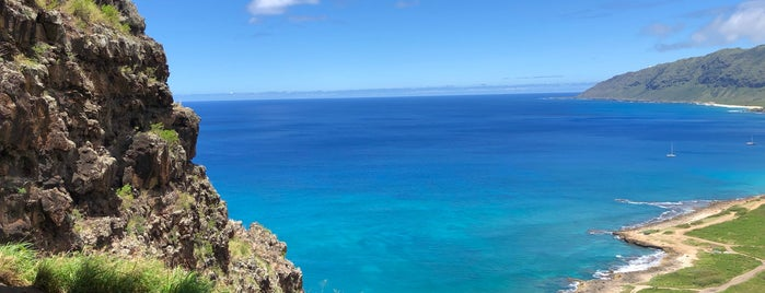 Upper Makua Cave is one of Oahu.