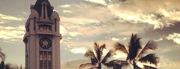 Aloha Tower is one of Oahu To Do List.