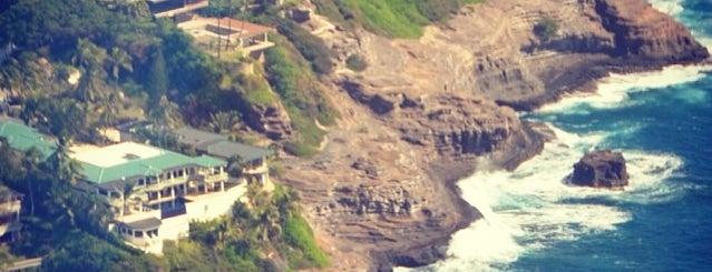 portlock cliffs is one of Hawaii - Oahu.