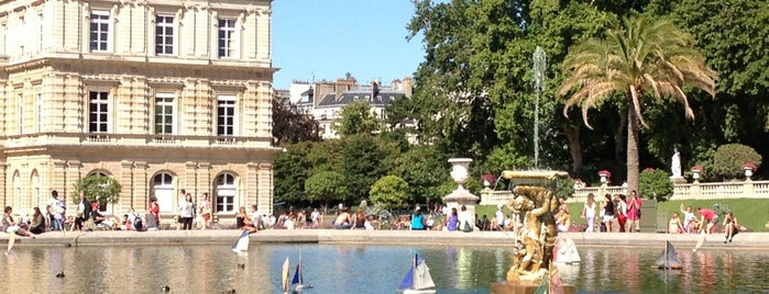 Jardin du Luxembourg is one of Париж.