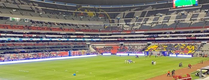Zona Palcos Estadio Azteca is one of Posti che sono piaciuti a Soy.