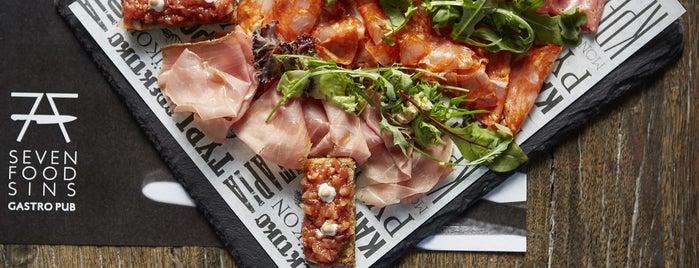 7 Food Sins is one of Athens Best: (Modern) Greek restaurants.