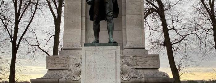 John Paul Jones Memorial is one of DC Monuments.