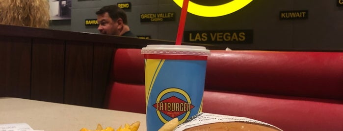Fatburger is one of Lugares guardados de Brent.