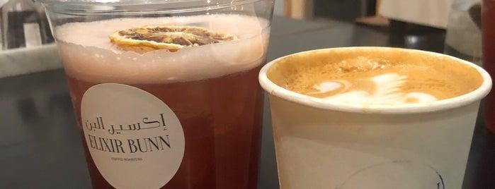 Elixir Bunn Coffee Roasters is one of Locais salvos de Queen.