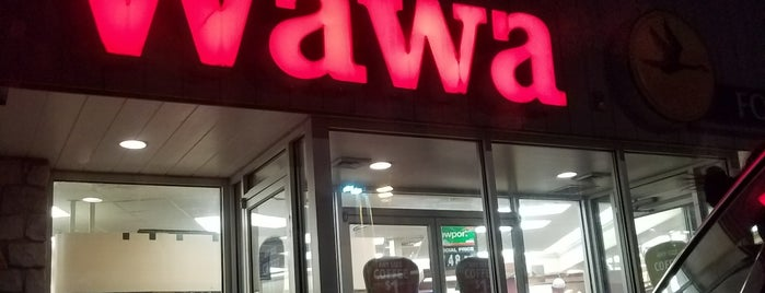 Wawa is one of Lugares guardados de Brooke.