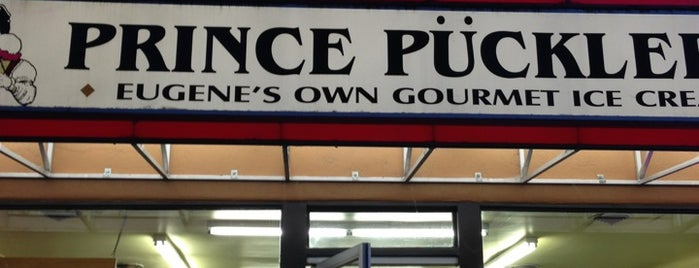 Prince Pückler's Gourmet Ice Cream is one of West Coast Road Trip.